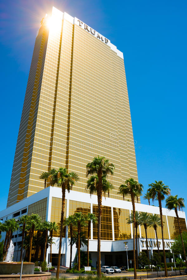 Международный отель Лас-Вегас козыря - башня козыря стоковые изображения