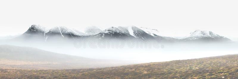 Между туманом стоковая фотография rf