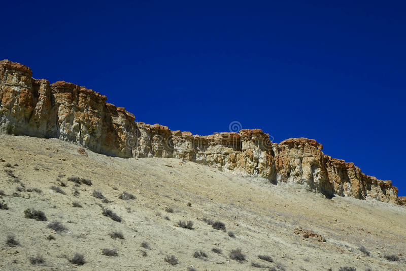 Мезы пустыни Орегона стоковое фото rf