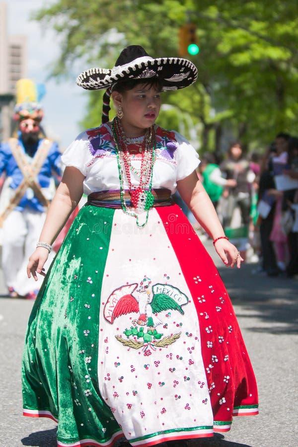 мексиканец девушки стоковое изображение rf
