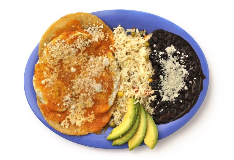 мексиканец завтрака стоковая фотография