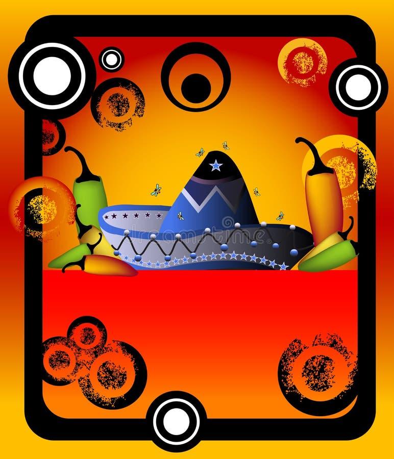 мексиканец рамки иллюстрация штока
