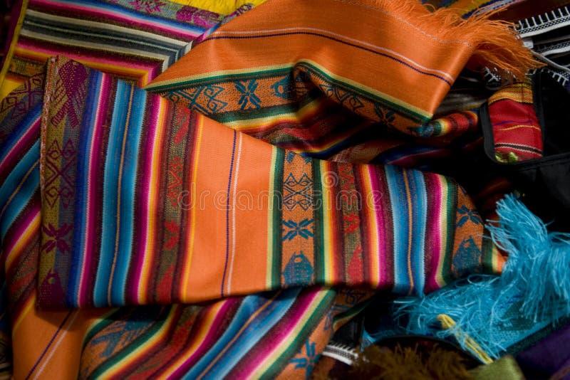 мексиканец ткани стоковые изображения rf