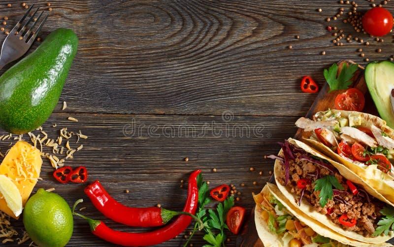 Мексиканская еда улицы стоковое фото rf