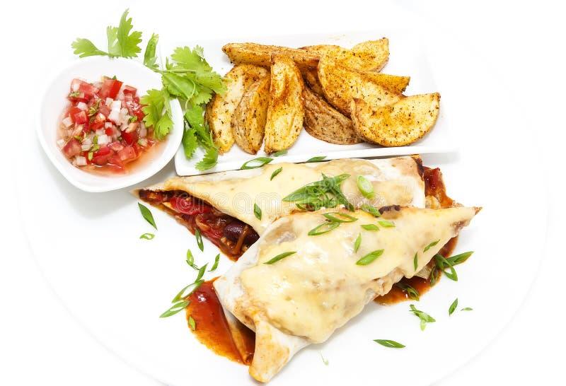 Мексиканская еда стоковая фотография
