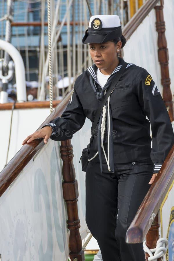 Мексиканская женщина Cuauhtémoc моряка стоковая фотография