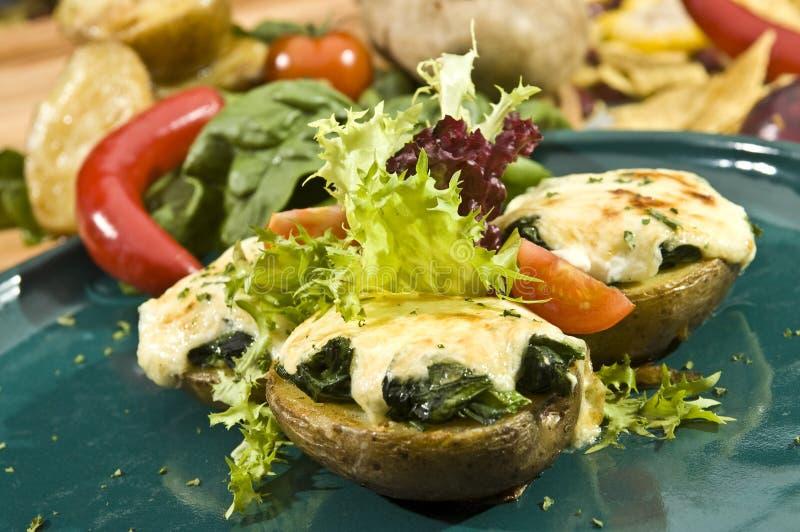мексиканская картошка стоковые фото