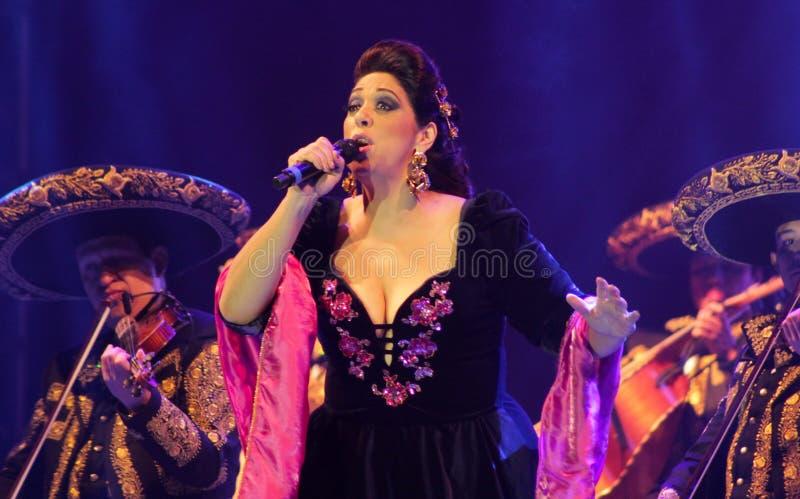 Мексиканская певица Регина Orozco стоковое изображение