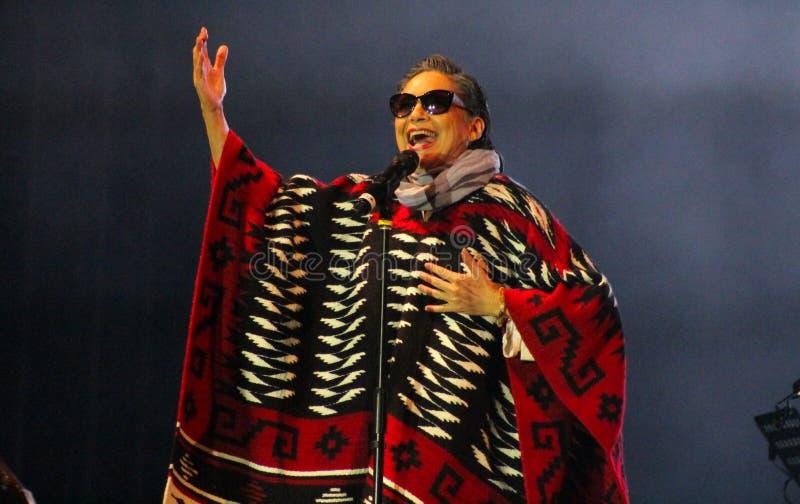 Мексиканская певица Ofelia Medina стоковое фото rf