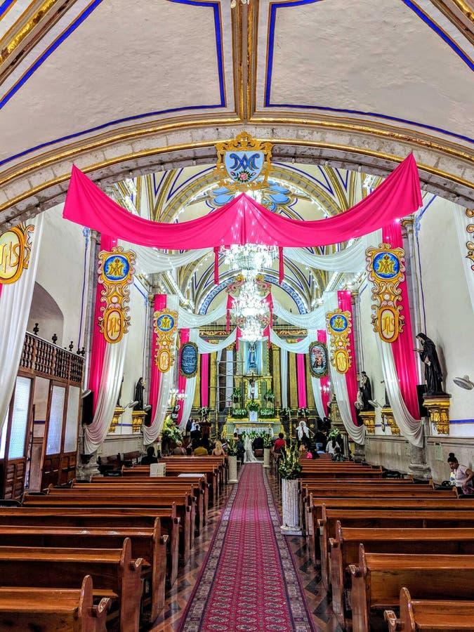 Мексиканская церковь стоковые фотографии rf