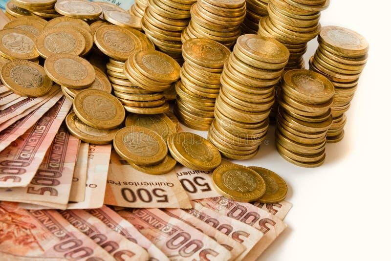 Мексиканские песо стоковые изображения rf