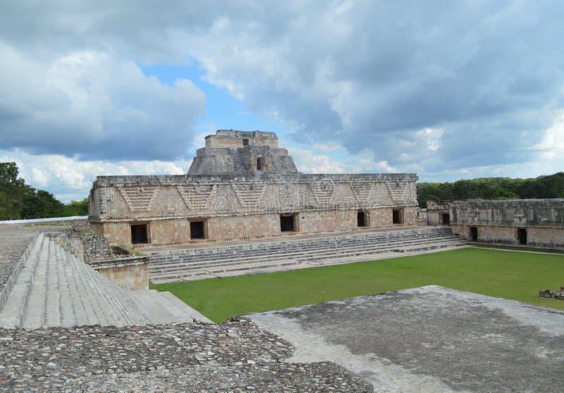 мексиканские руины стоковые изображения
