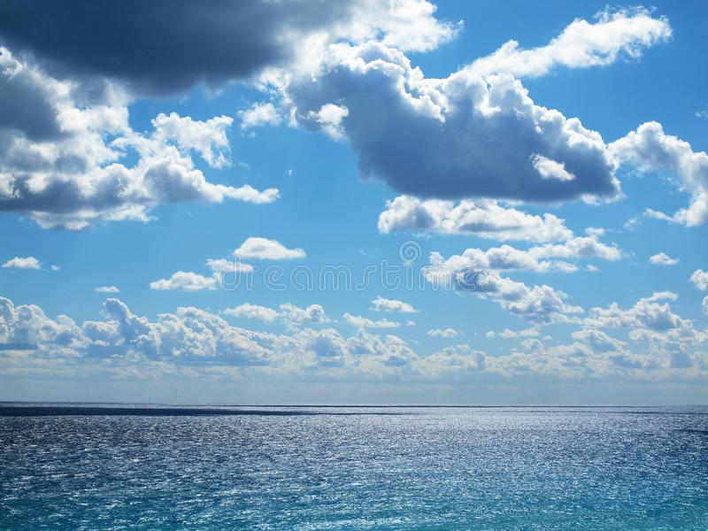Мексиканский залив, Cancun стоковое изображение