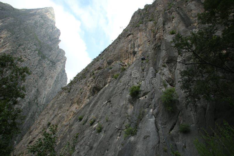 Мексиканский ландшафт каньона husteca стоковые изображения rf