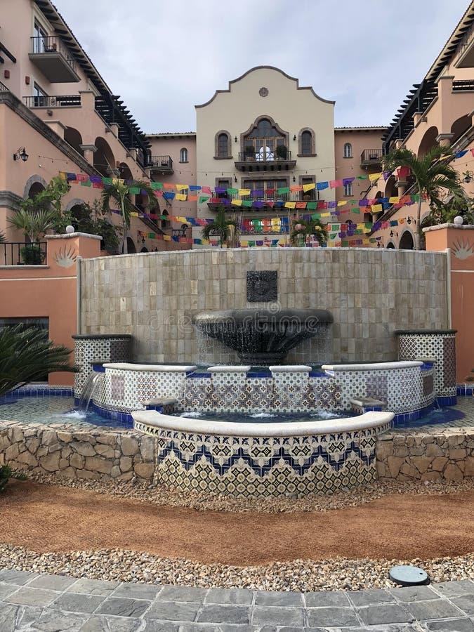 Мексиканский маленький город стоковое изображение