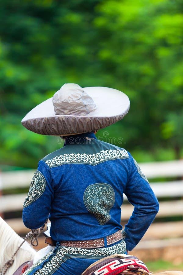 Мексиканский наездник Charro стоковая фотография