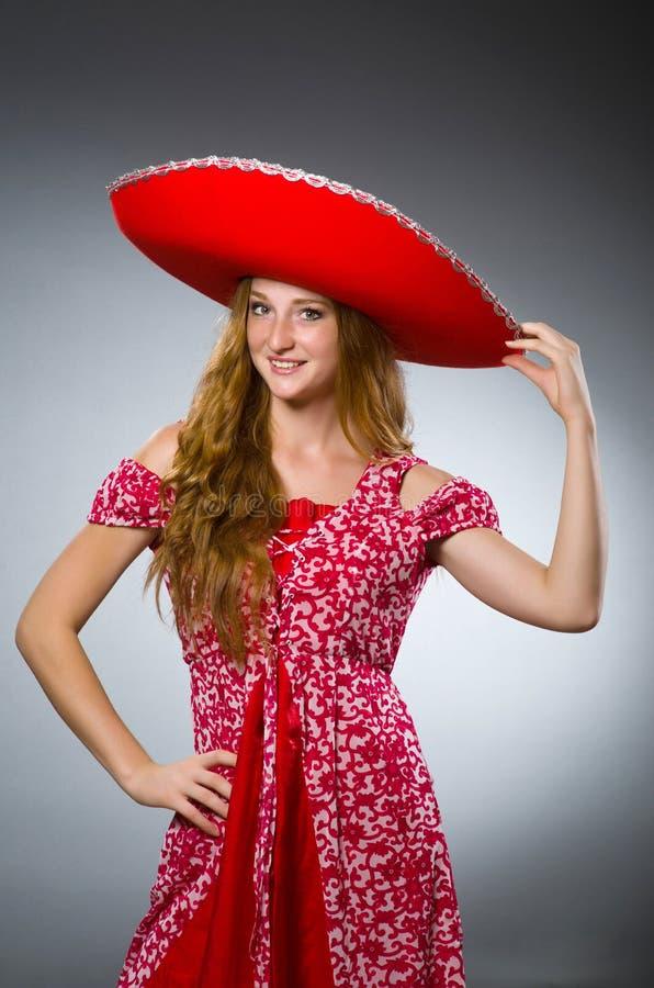 Мексиканский носить женщины стоковое изображение