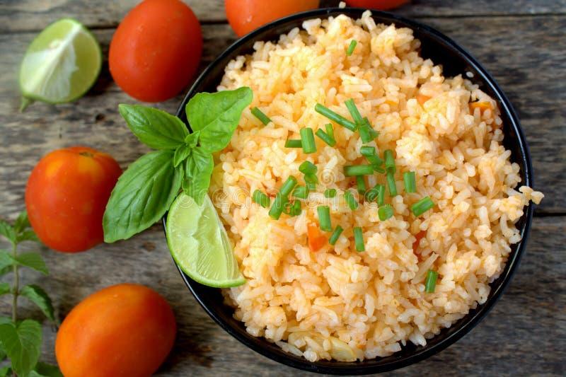 мексиканский рис стоковое изображение