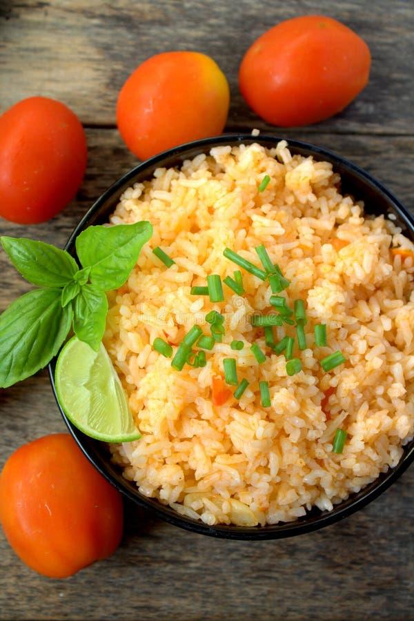 мексиканский рис стоковые изображения
