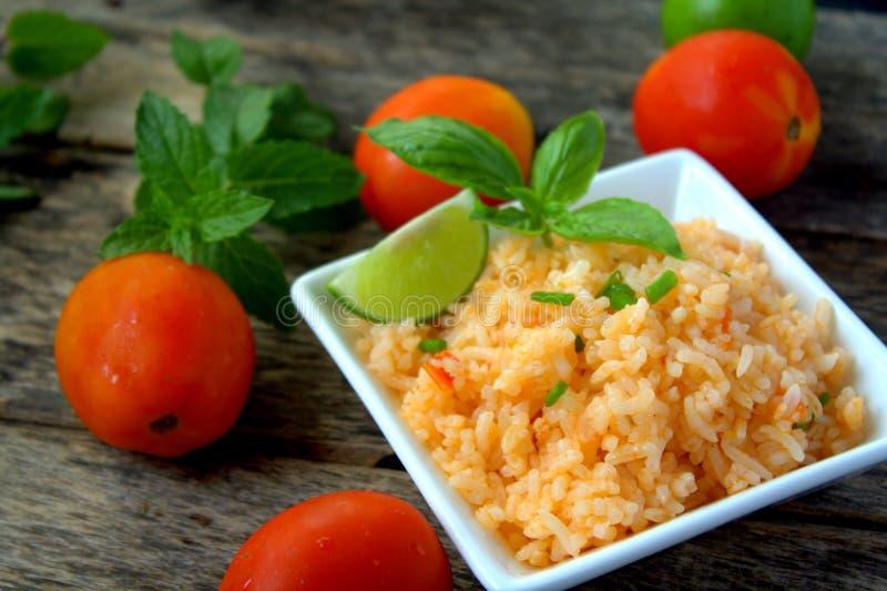 мексиканский рис стоковая фотография