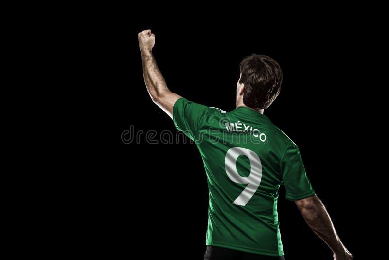 Мексиканский футболист стоковые изображения rf