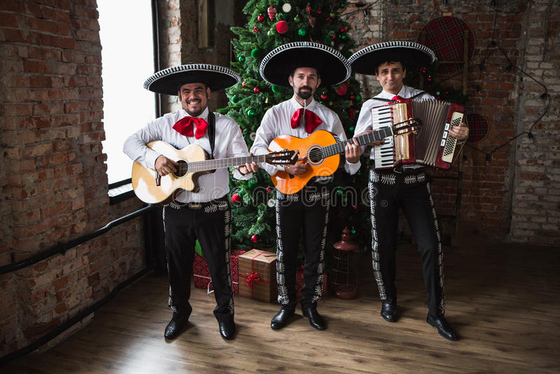 Мексиканский mariachi музыканта стоковая фотография