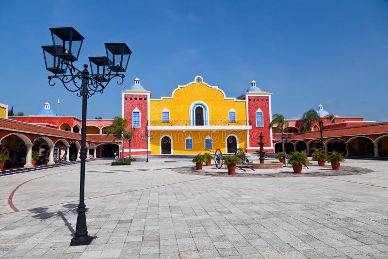 Мексиканское крупное поместье стоковые фотографии rf