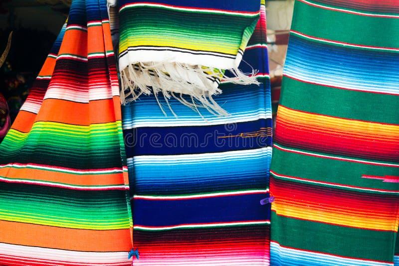 Мексиканское одеяло стоковые фотографии rf