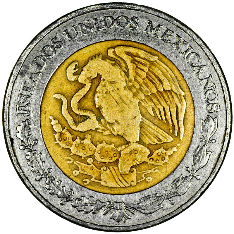 Мексиканское песо стоковое изображение