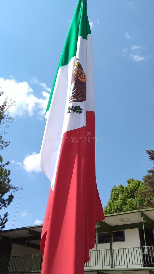 Мексиканський флаг стоковое изображение rf