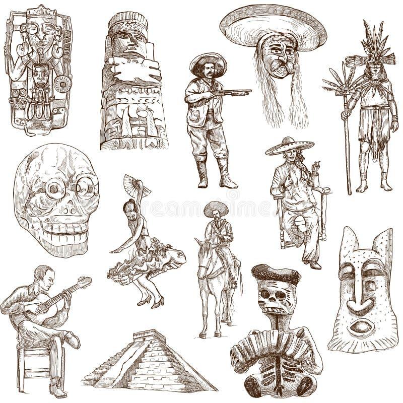 Мексика - 2 иллюстрация вектора