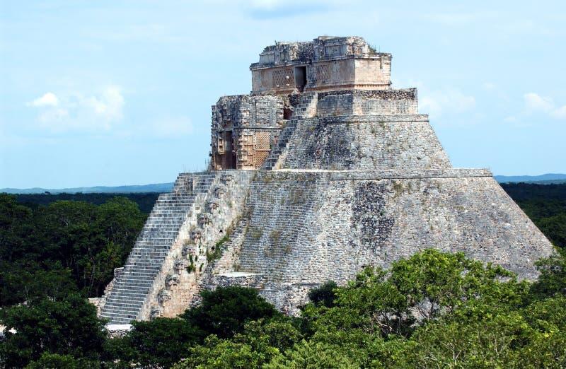 Мексика uxmal стоковое изображение