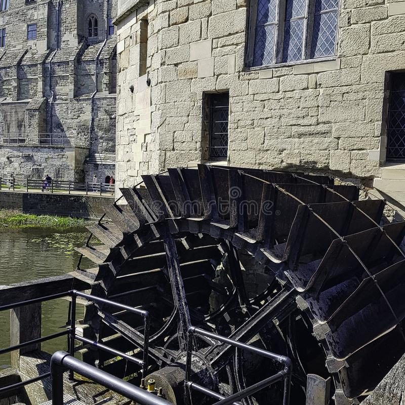Мельница замка Warwick в Warwick, Уорикшире, Великобритании стоковые фото