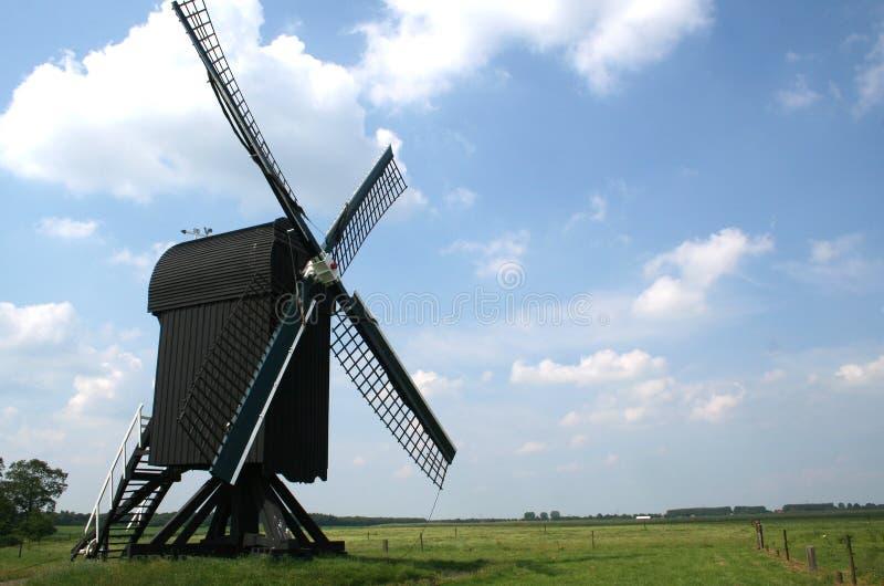 Мельница столба в Ter Haar стоковое изображение rf