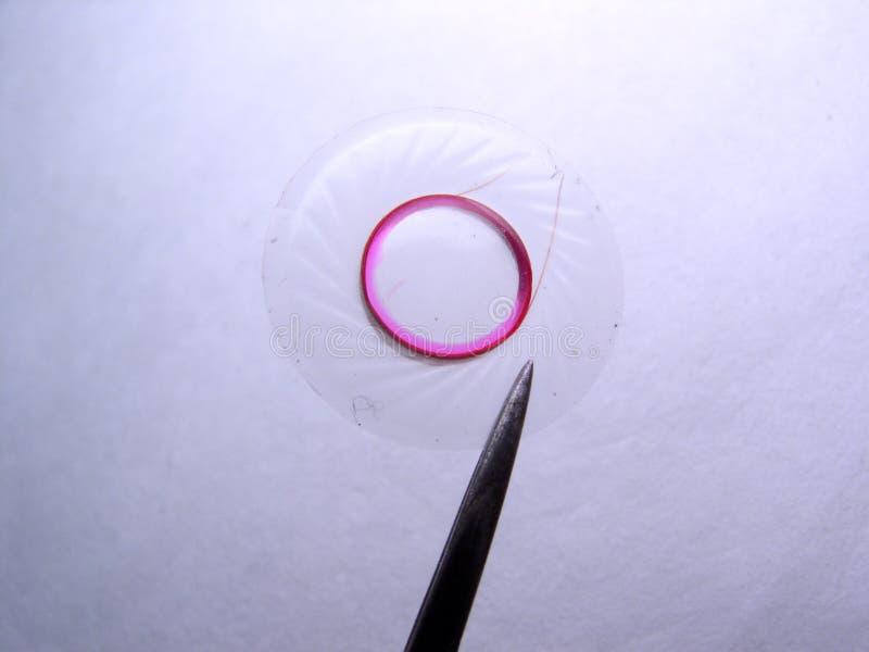 мембрана наушника стоковое изображение