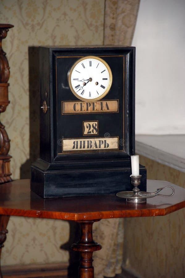 Мемориальная квартира большого русского писателя Fyodor Dostoevsky стоковая фотография rf
