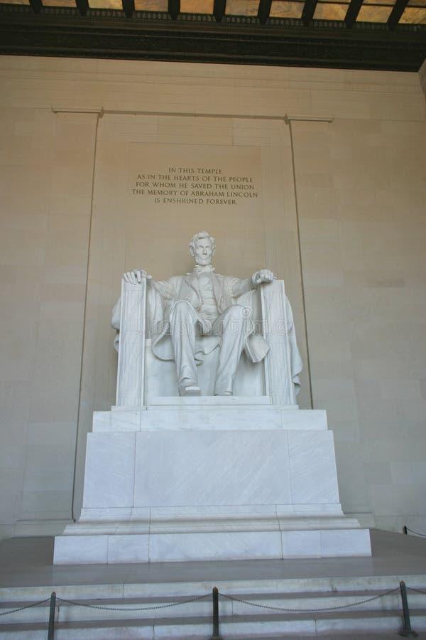 мемориал Абраюам Линчолн стоковое изображение