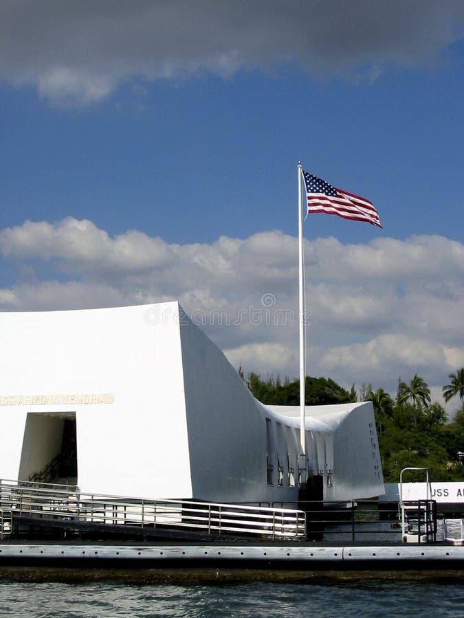 мемориал Аризоны стоковая фотография rf
