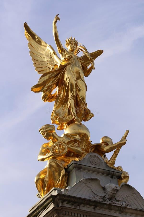 Мемориал Виктории - Лондон стоковое изображение rf