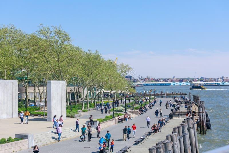 Мемориал военно-морского флота в парке батареи в более низком Манхаттане стоковые фото
