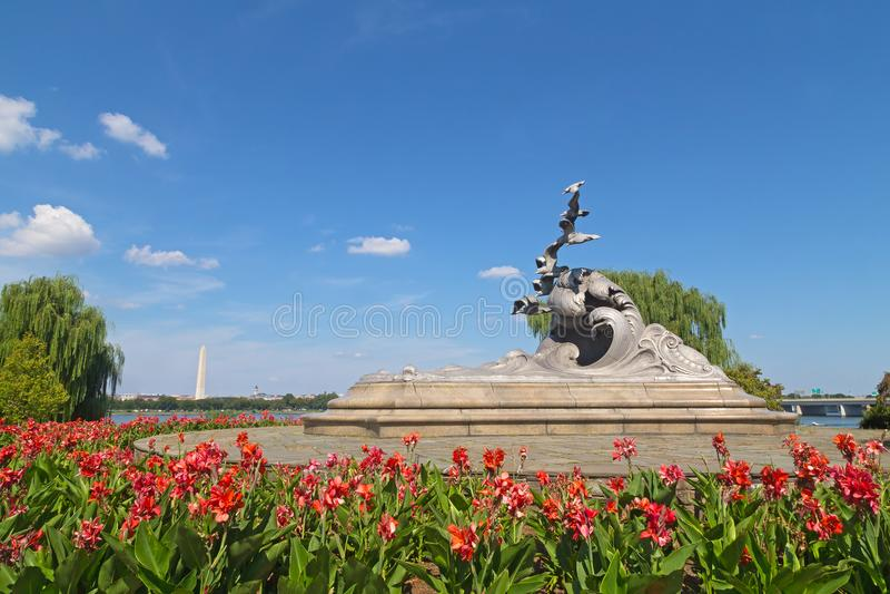 Мемориал Военно-морск-купца морской стоковая фотография