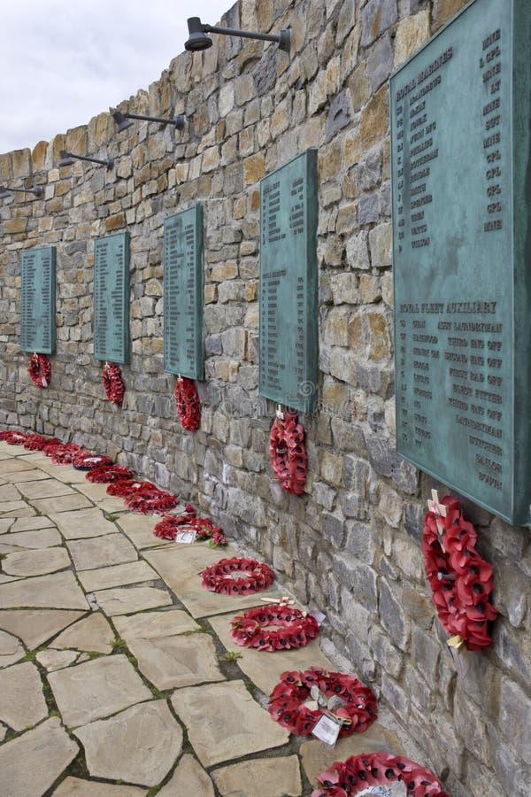 Мемориал войны Falklands - Falkland Islands стоковое изображение rf