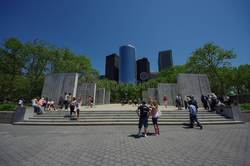 Мемориал восточного побережья в Нью-Йорке стоковое изображение