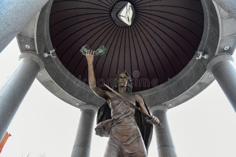 Мемориал Второй Мировой Войны - Трентон, Нью-Джерси стоковые фото