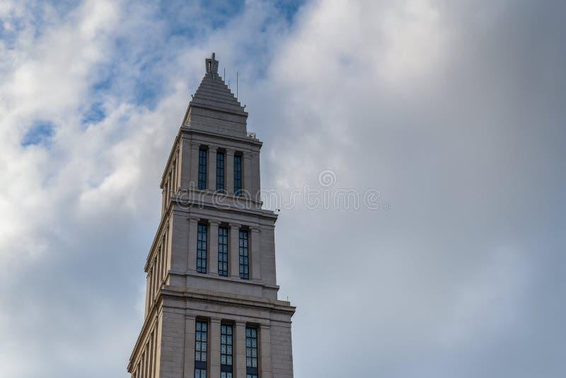 Мемориал Джорджа Вашингтона Masonic в Александрия, Вирджинии стоковые фотографии rf