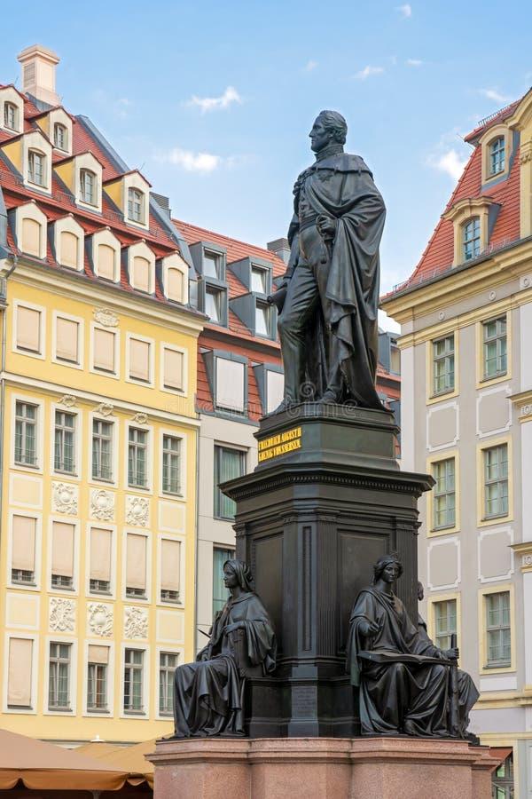 Мемориал для Фредерика Augustus II из Саксонии стоковые фотографии rf