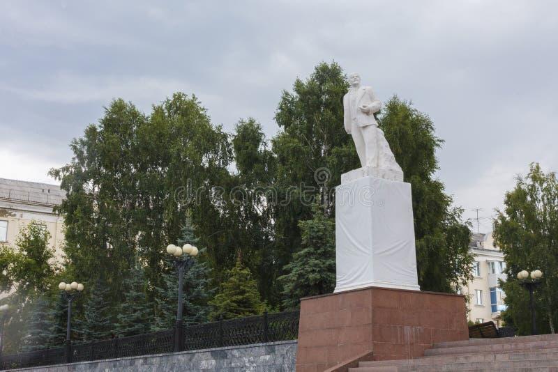 Мемориал к Ленину в парке стоковые изображения rf