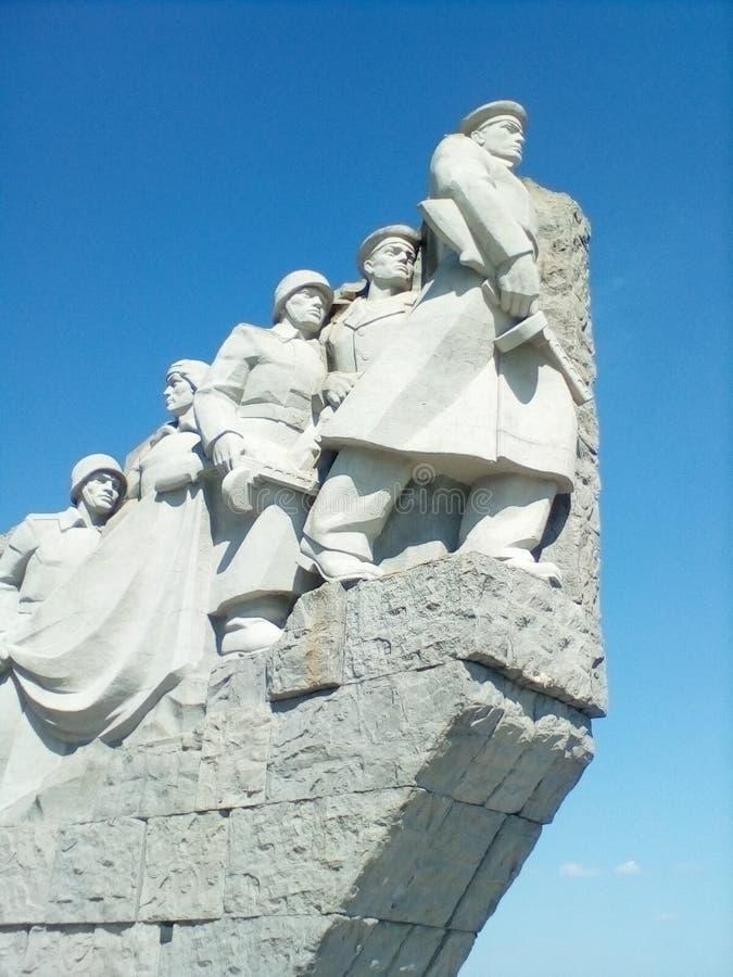 Мемориал к солдатам стоковая фотография rf