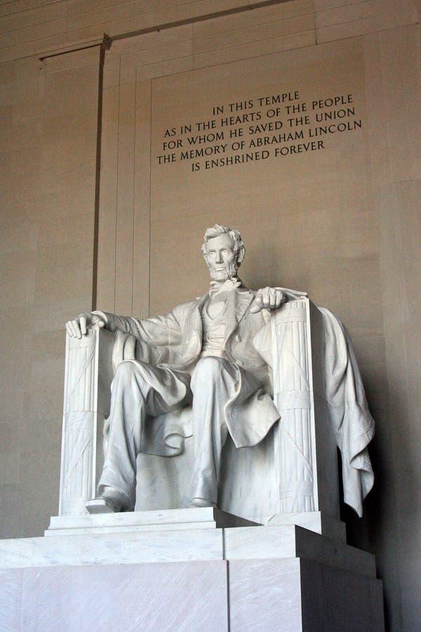 Мемориал Линкольна в Вашингтоне стоковые фото