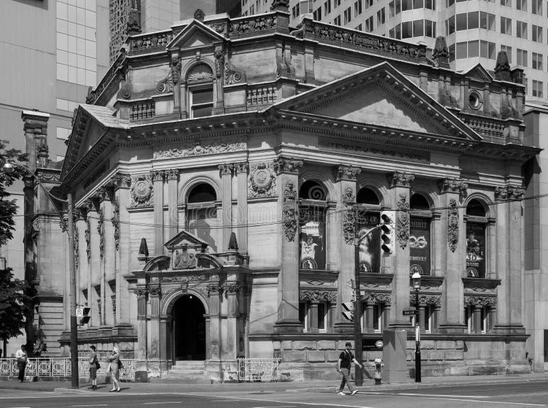 Мемориал хоккея, черно-белый Торонто, ДАЛЬШЕ Канада стоковое изображение rf